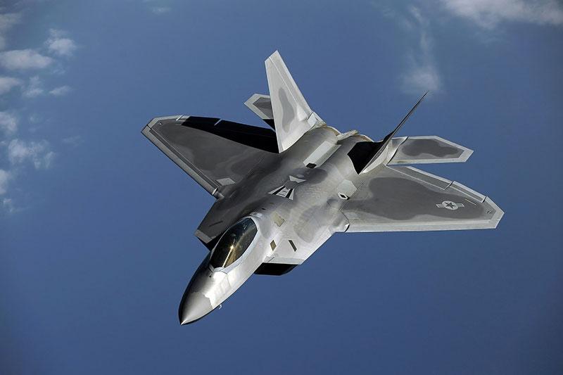 Vanadium F-22 Raptor