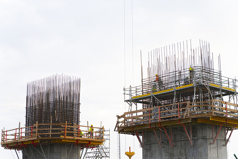 Vanadium Rebar Construction